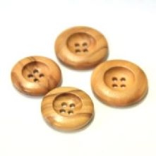 Wooden Two Hole Buttons